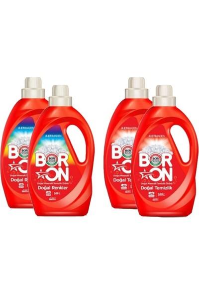 Boron Sıvı Çamaşır Deterjanı Renkler ve Beyazlar x 4