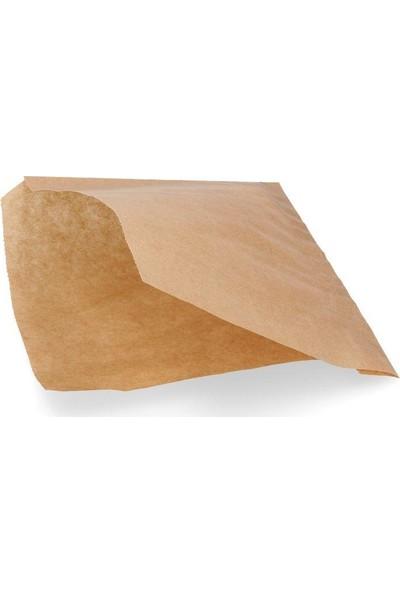 1001 Kese Kağıdı Çizgisiz Baskısız Şamua Kraft Hamburger 1 Kilo