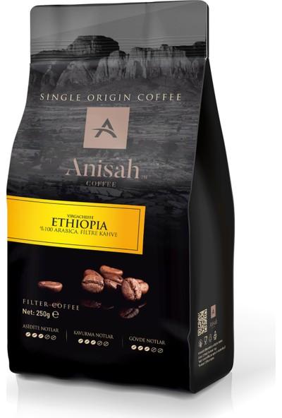 Anisah Etiyopya Filtre Kahve 250 Gr Çekirdek (Öğütülmemiş)