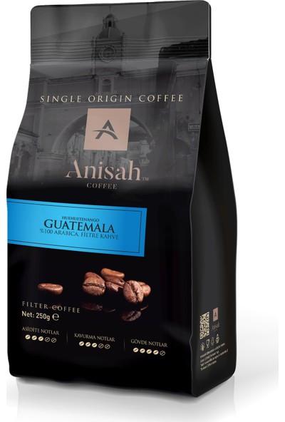 Anisah Guatemala Filtre Kahve 250 Gr Çekirdek (Öğütülmemiş)