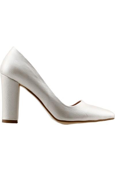 Ayakland 137029-311 20 Günlük 8 cm Topuk Kadın Çupra Ayakkabı