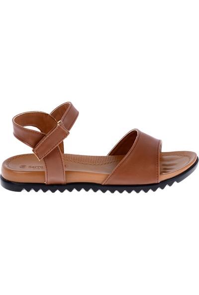 Ayakland 260-06 Cilt Günlük Kadın Sandalet Ayakkabı