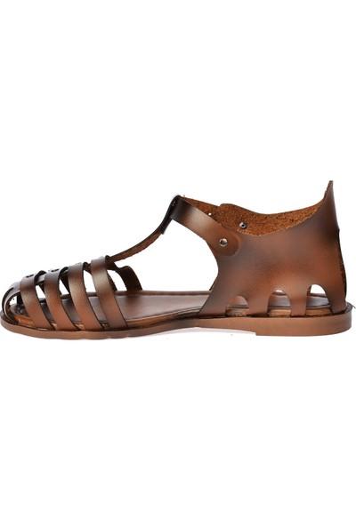 Ayakland 3254 Günlük Kemerli Kadın Sandalet