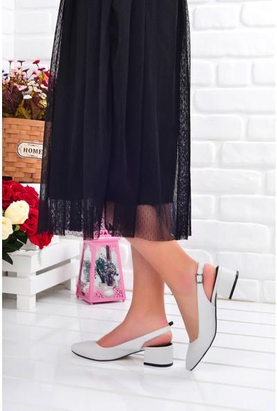 Ayakland 510-74 Cilt 3 cm Topuk Kadın Sandalet Ayakkabı