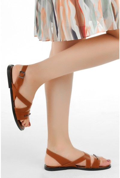 Ayakland Arkadaş A-04 Günlük Kadın Sandalet
