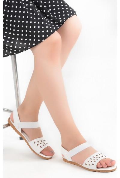 Ayakland Bigy 057 Günlük Kadın Sandalet Ayakkabı