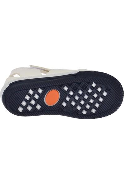 Kiko Pnd 700.S.500 Günlük Cırtlı Kız-Erkek Çocuk Sandalet Ayakkabı Beyaz