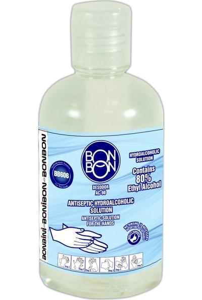Bonbon® BB606 Desodor Ac-90 Antıseptıc Hydroalcoholıc Solutıon 100 ml