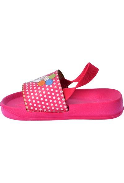 Kiko Akn E405.083 Plaj Havuz Kız Çocuk Sandalet Fuşya