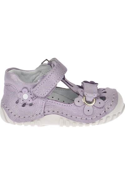 Kiko Kids Teo 106 %100 Deri Orto Pedik Cırtlı Kız Çocuk Ayakkabı