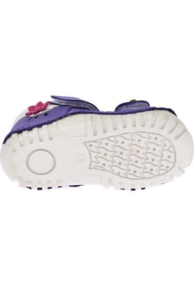 Kiko Kids Teo 115 %100 Deri Orto Pedik Cırtlı Kız Çocuk Ayakkabı