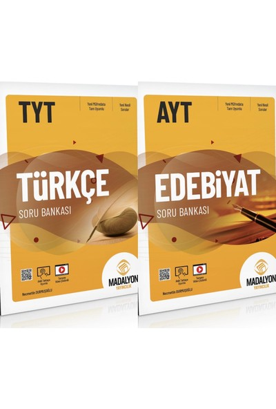 Madalyon TYT Türkçe AYT Edebiyat Kazandırdan 2 Kitap