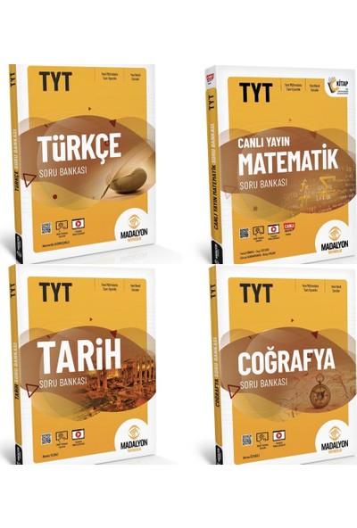 Madalyon TYT Türkçe Matematik Tarih Coğrafya Kazandıran Set 4 Kitap