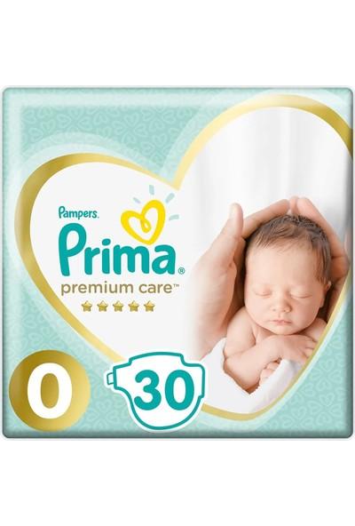 Prima Bebek Bezi Premium Care Prematüre Yenidoğan Paket 1,5-2,5 kg 30'lu