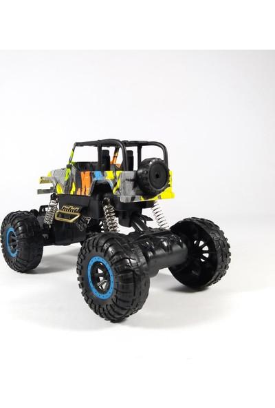 Birlik Oyuncak Off Road Süspansiyonlu Jeep Uzaktan Kumandalı Pilli 1:16 Ölçek