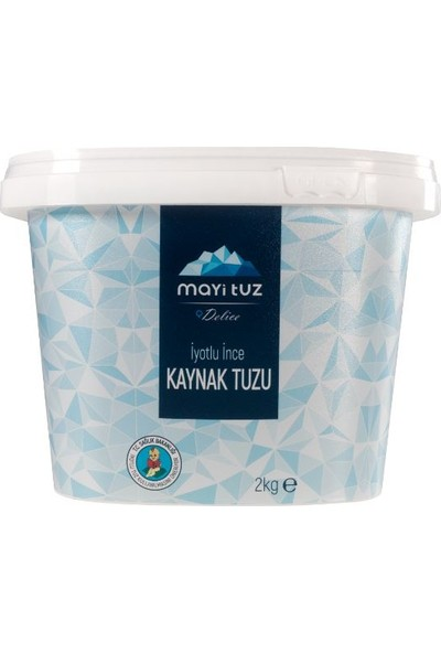 Mayi Tuz Iyotlu Ince Kaynak Tuzu 2 kg