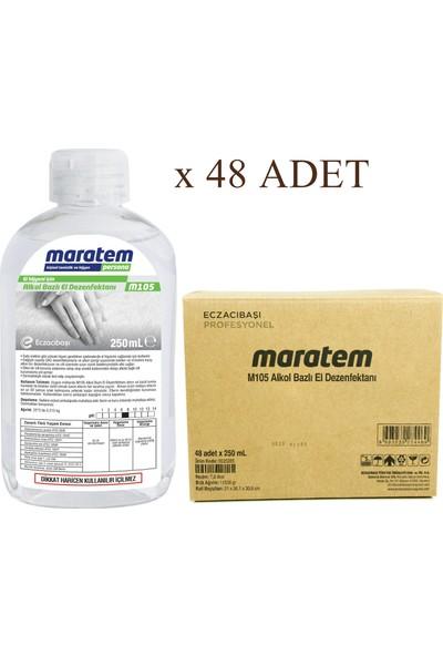 Maratem M105 Alkol Bazlı El Dezenfektanı 250 ml x 48 Adet