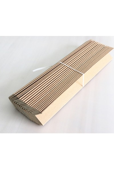 Empa Karton Köşebent 40 x 40 cm 4 mm 2 Metre 100'LÜ