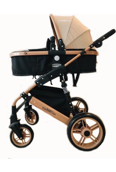 Willbabydan Travel Sistem Bebek Arabası Model 1509 Z Gold