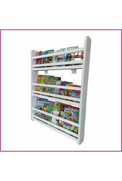 Emdief Home - Montessori Kitaplık Çocuk Odası Kitap Rafı