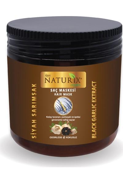 Naturix Siyah Sarımsaklı Saç Maskesi - 500 ml