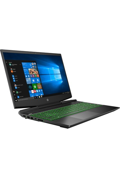 "HP Pavilion Gaming 15-DK1000NT Intel Core i5 10300 8GB 512GB SSD GTX1650 Windows 10 Home 15.6"" FHD Taşınabilir Bilgisayar 1U5Q9EA"