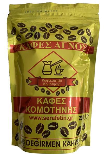 Selanik Kuru Kahvecisi Kafes Komotinis Gümülcine Yunan Kahvesi 200 gr