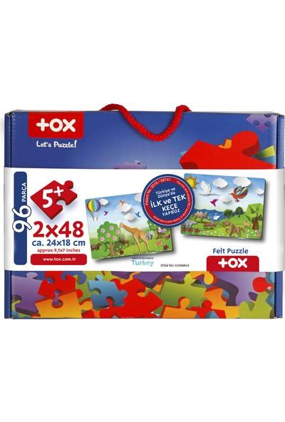Tox Origami Keçe Yapboz