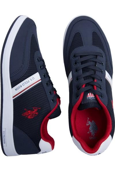 U.S. Polo Assn. Kares Lacivert Erkek Sneaker
