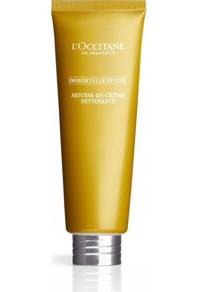 L'occıtane Immortelle Divine Cleansing Cream-In-Foam - Temizleyici Köpük 125 ml