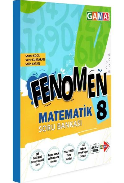 Gama Yayınları 8. Sınıf Lgs Fenomen Matematik Soru Bankası 2021