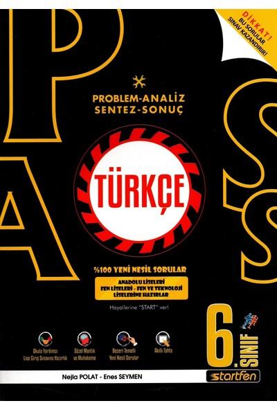 Startfen Pass 6. Sınıf Türkçe Yeni Nesil Soru Bankası