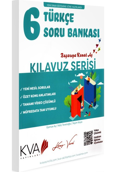 Koray Varol Kva Kılavuz Serisi 6. Sınıf Türkçe Soru Bankası