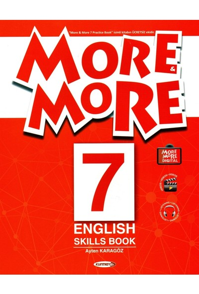 Kurmay Elt More More 7. Sınıf English Practice Book + Skills Book + Dictionary