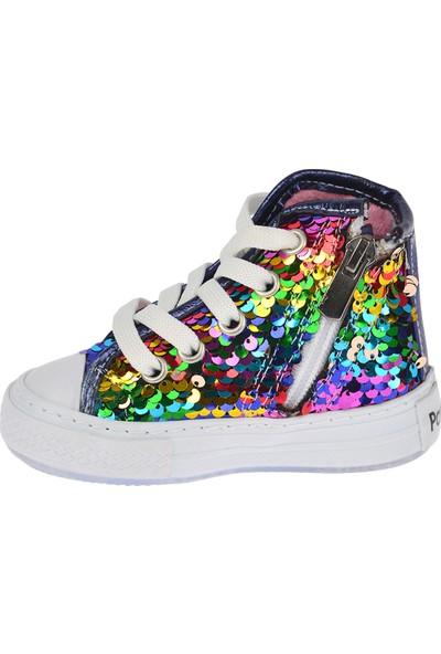 Kiko Pnd 200.C.175 Günlük Işıklı Kız Çocuk Spor Ayakkabı Lacivert