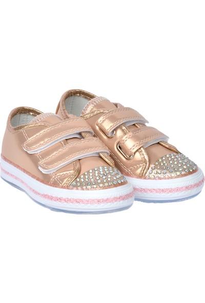 Kiko Pnd 200C155 Işıklı Kız Çocuk Spor Ayakkabı Pembe