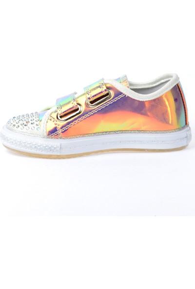Kiko Pnd 200C160 Hologram Işıklı Kız Çocuk Spor Ayakkabı Mavi