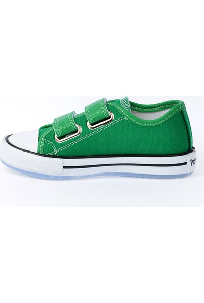 Kiko Pnd 201C150 Keten Işıklı Kız-Erkek Çocuk Ayakkabı Yeşil