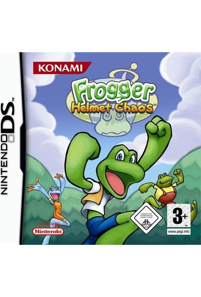 Frogger Helmet Chaos DS Oyun