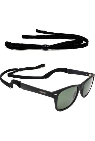 Mavi Tasarım Yassı ve Esnek Sporcu Gözlük İpi