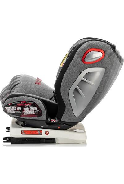 Moje Safe Up 0-36 kg 360° Dönebilen Isofix'li Oto Koltuğu - Gri