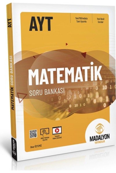 Madalyon AYT Matematik Soru Bankası