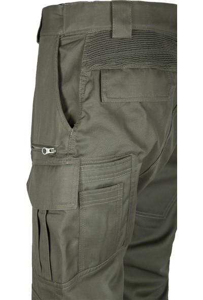 Vav Elastik Bel Yapılı Tactical Pantolon - 14