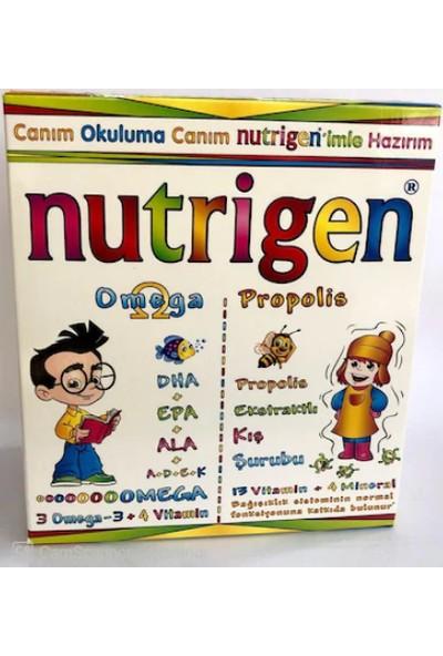 Nutrigen Omega Şurup 200 ml + Propolis Şurup 200 ml Kofre