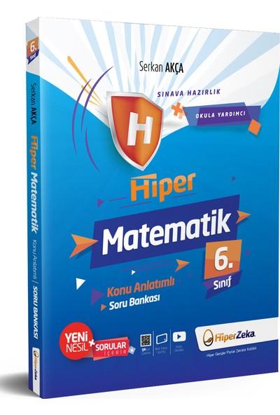Hiper Zeka Yayınları 6. Sınıf Hiper Matematik Konu Anlatımlı & Soru Bankası