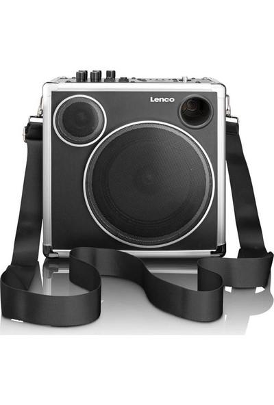 Lenco Pa-45 Seyyar Taşınabilir Bluetoothlu Amfili Hoparlör Usbli Sd Kart Girişli