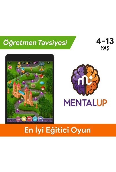 MentalUP Online Eğitici Çocuk Oyunu 6 Aylık