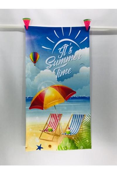 Art Beach Baskılı Plaj Havlusu Art-Hv-03