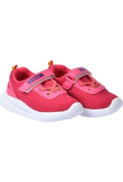 Kiko Kids S20 Günlük Fileli Cırtlı Kız Çocuk Spor Ayakkabı