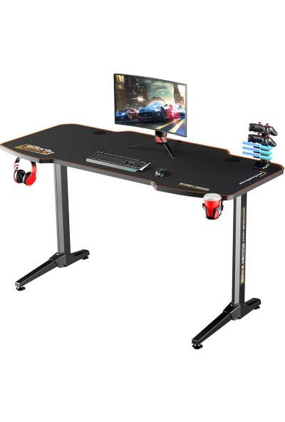 Adore Gaming Expert Oyuncu Masası AGT-140-QQ-1 Karbon Çelik Gövde Siyah